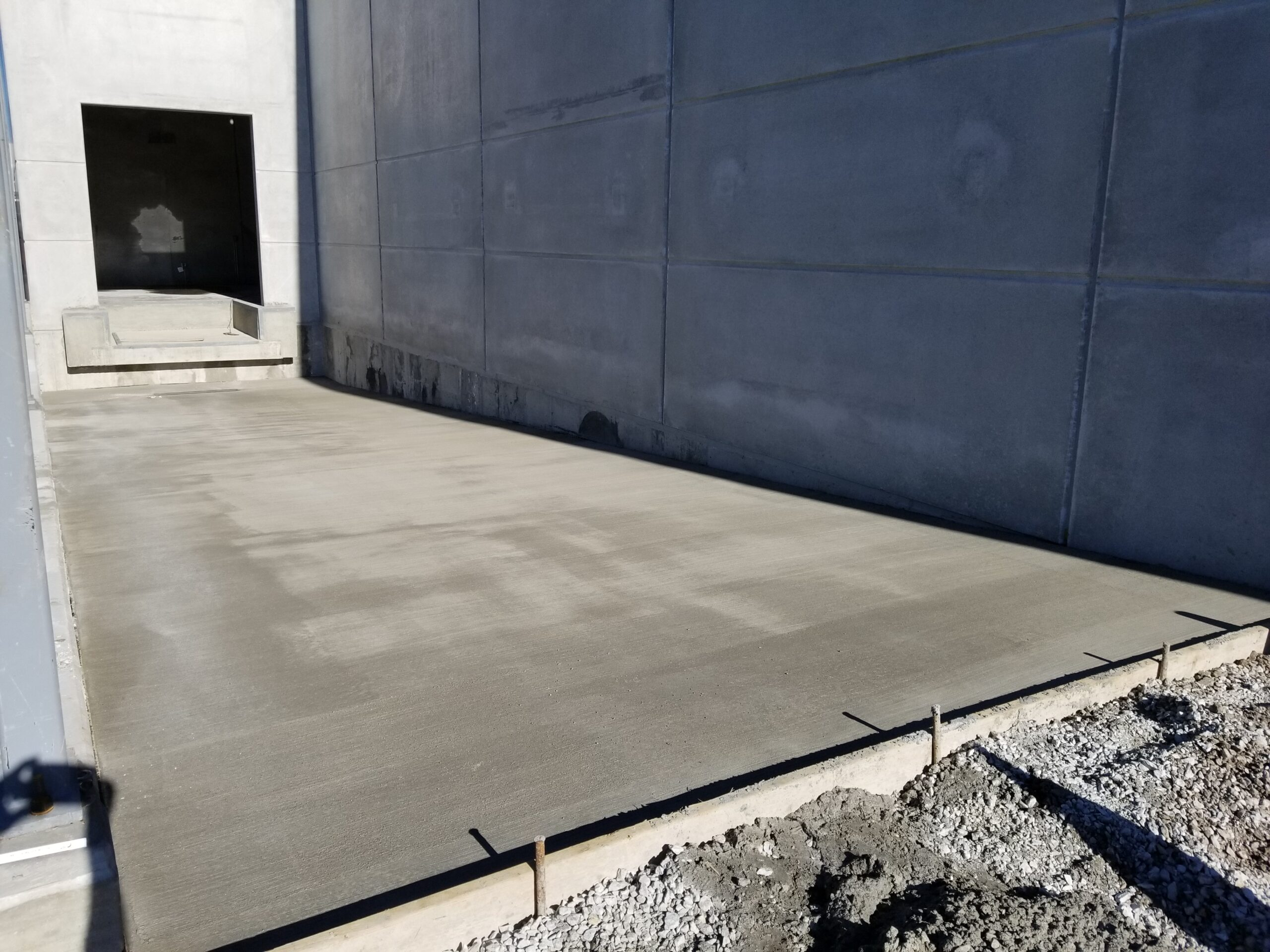 Farm Plant Addition -Concrete Foundations and Floor