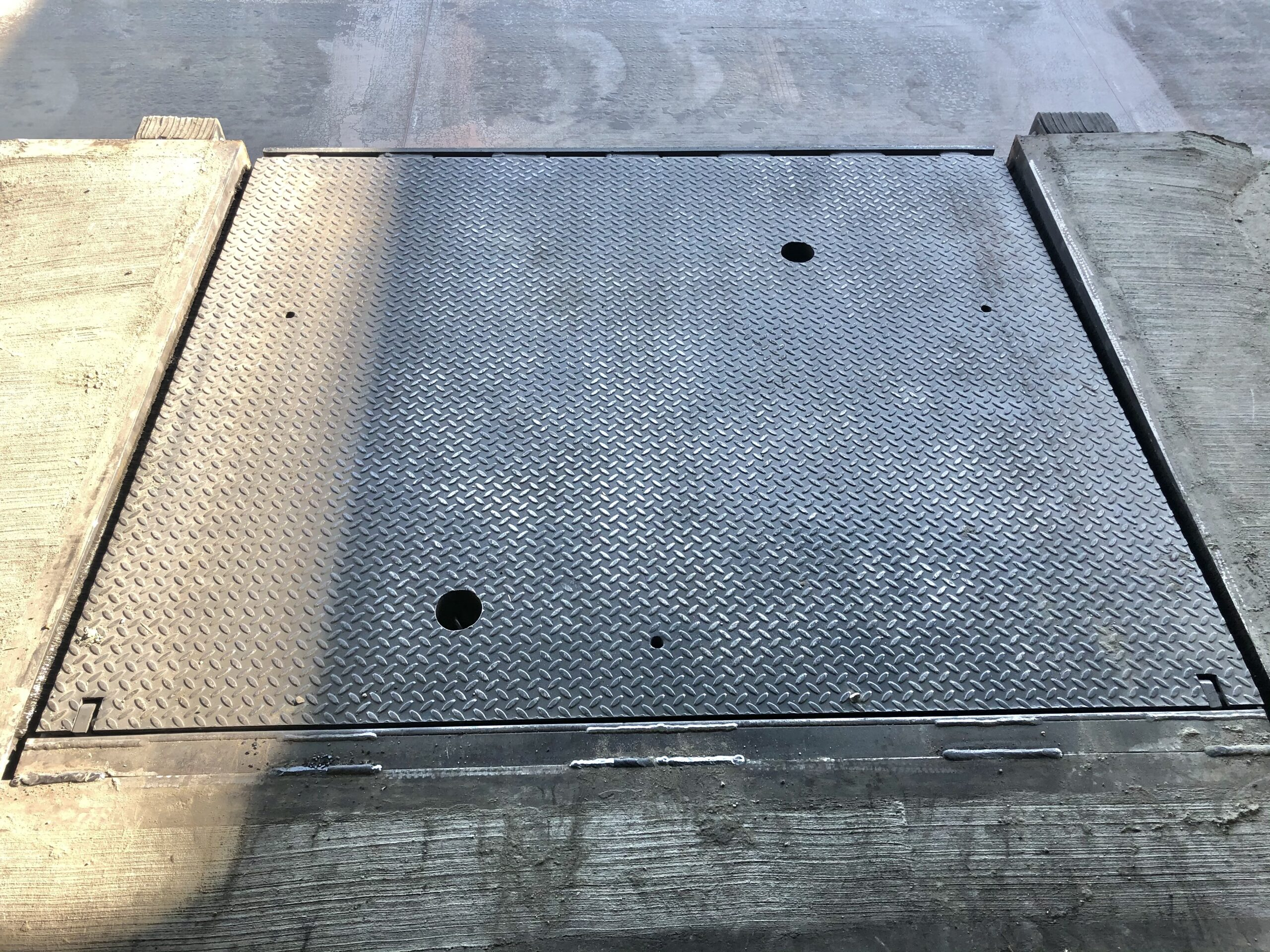 Mechanical Dock Leveler Installation
